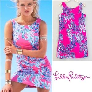 LILLY PULITZER Cathy Shift Dress in Capri Pink